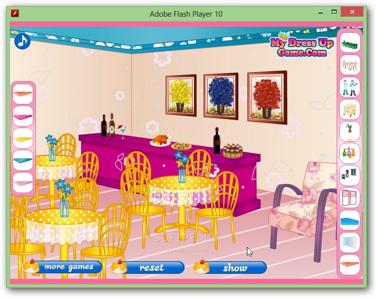 Restaurant Decorating Game screenshot 2