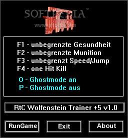 Return to Castle Wolfenstein +5 Trainer Download