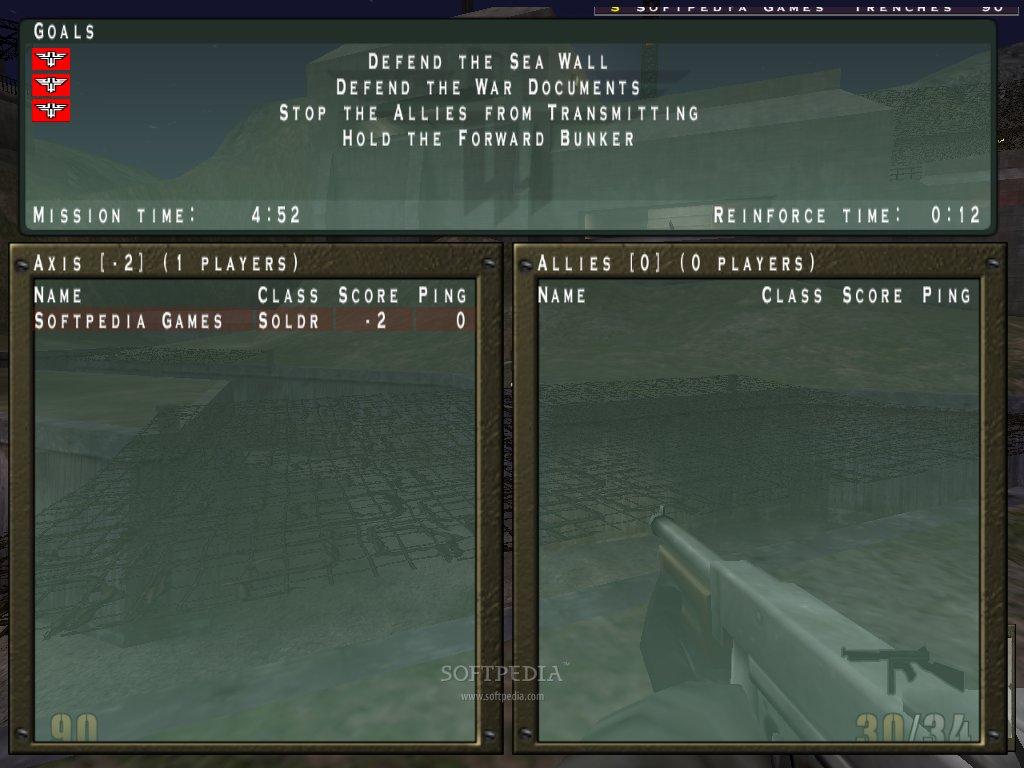Return to Castle Wolfenstein Multiplayer Demo Download