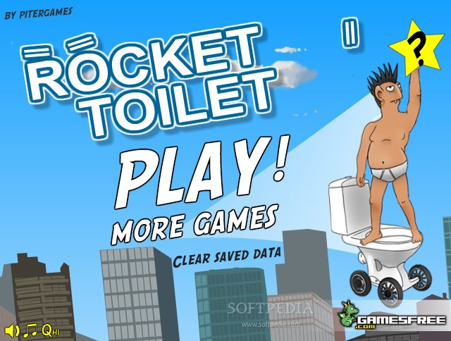 Rocket Toilet screenshot 1