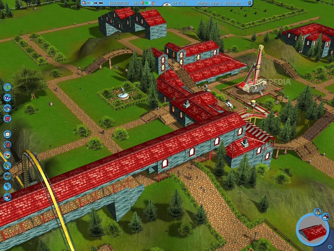 RollerCoaster Tycoon 3 Demo Download