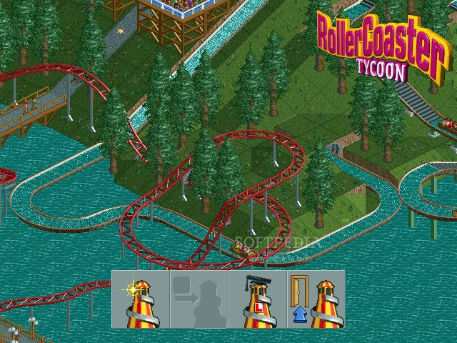 play rollercoaster tycoon online