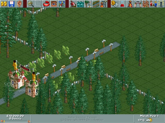 RollerCoaster Tycoon Demo Download