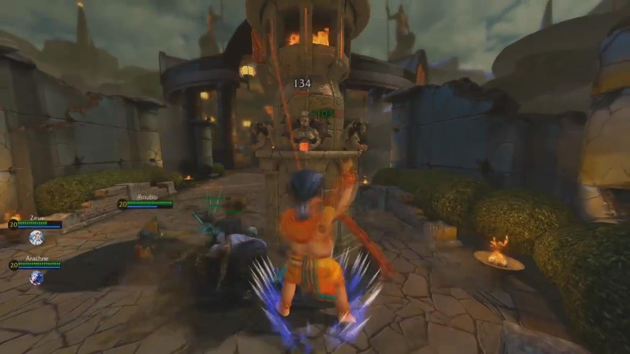 SMITE Gameplay Video PAX 2012 screenshot 5