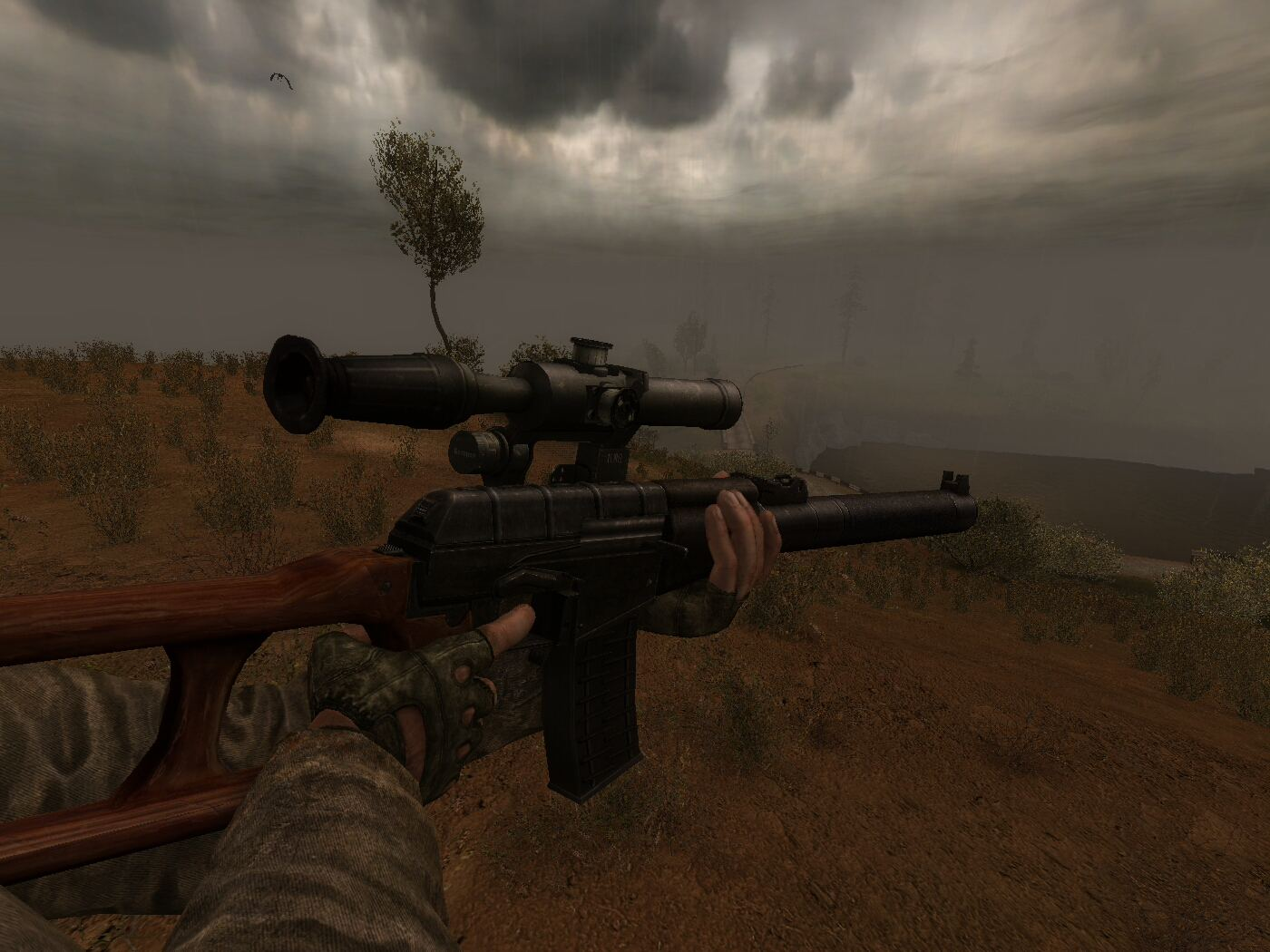STALKER: Call of Pripyat Addon - VSS-Vintorez screenshot 1
