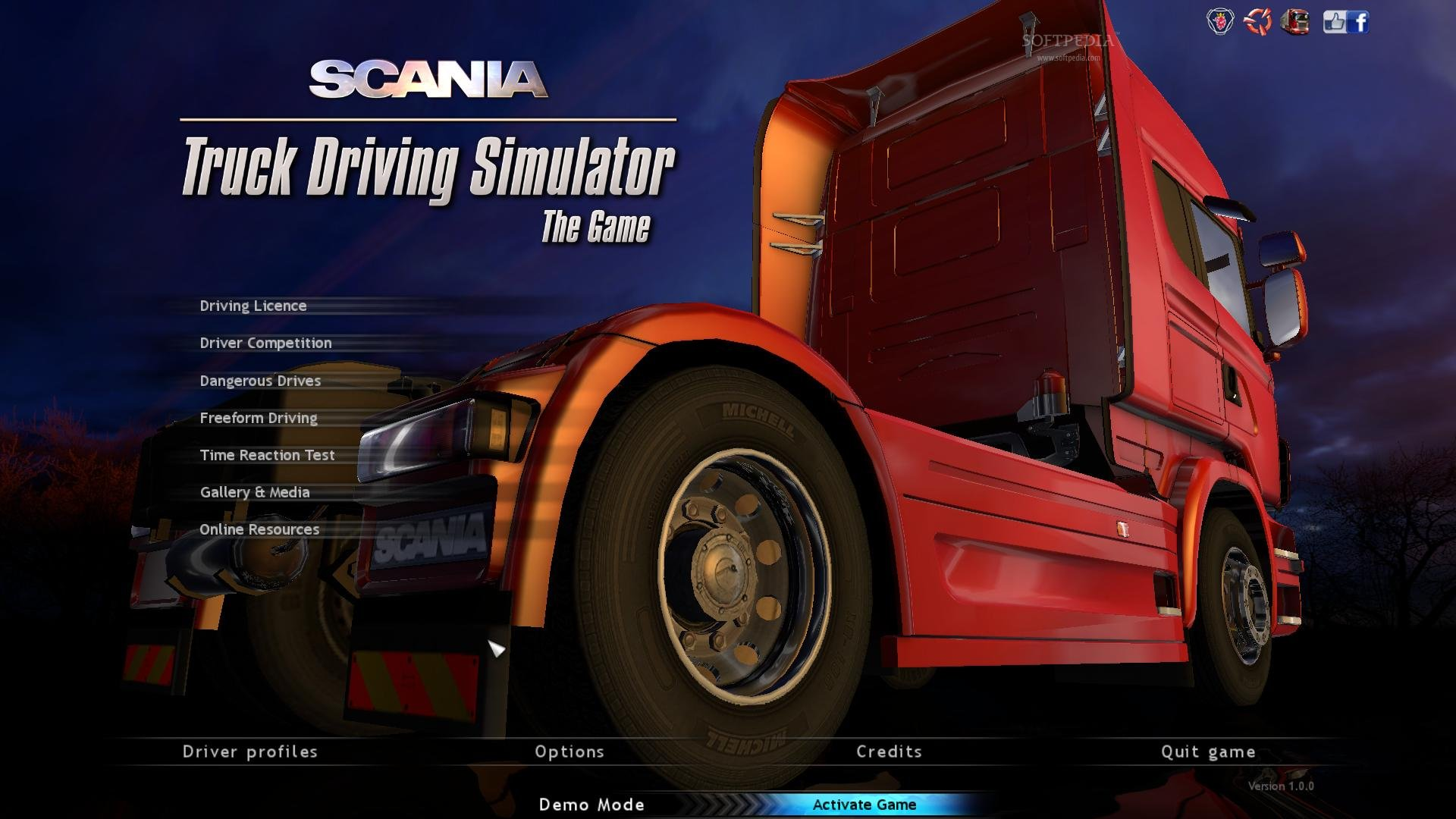 Scania Truck Driving Simulator screenshot 2