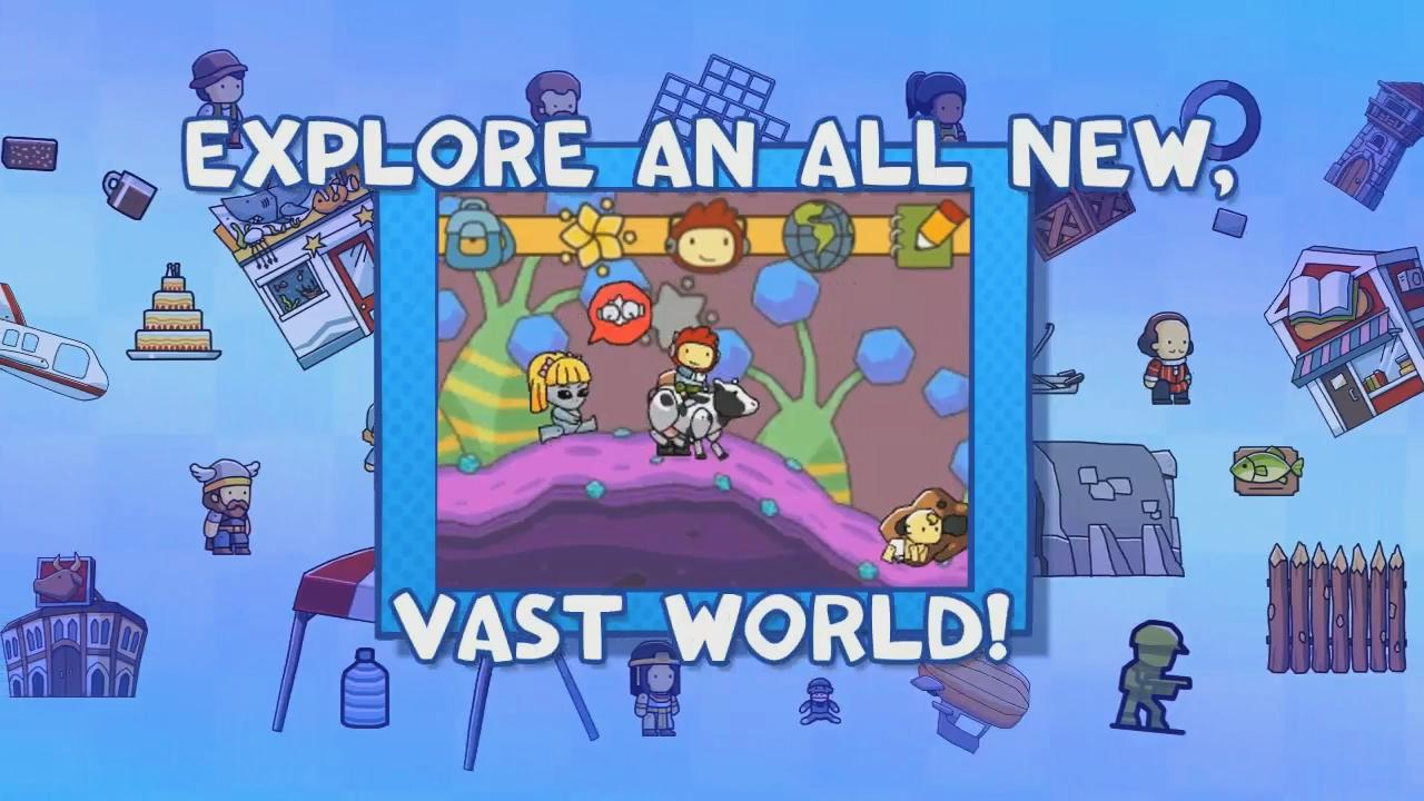 Scribblenauts Unlimited: Announcement Trailer screenshot 2
