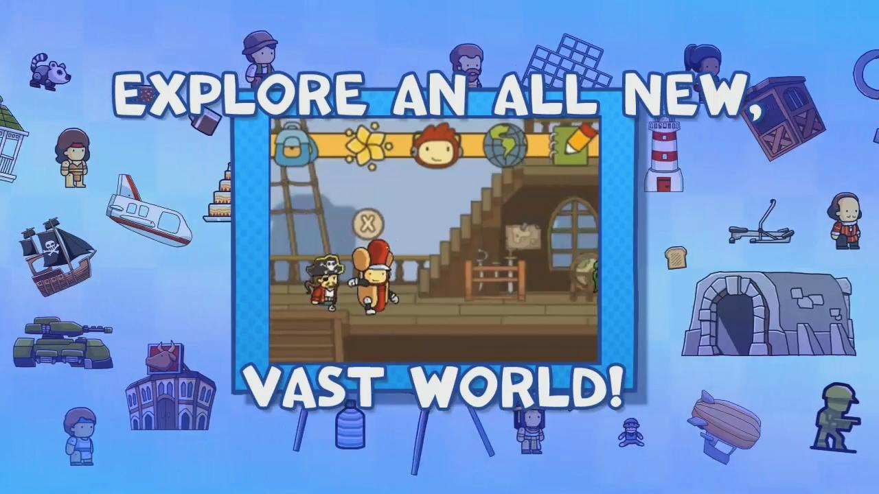 Scribblenauts Unlimited: Announcement Trailer screenshot 3