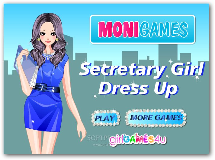 Secretary Girl Dress Up screenshot 1