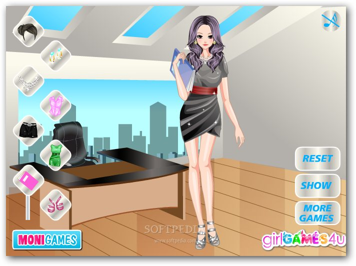 Secretary Girl Dress Up screenshot 2