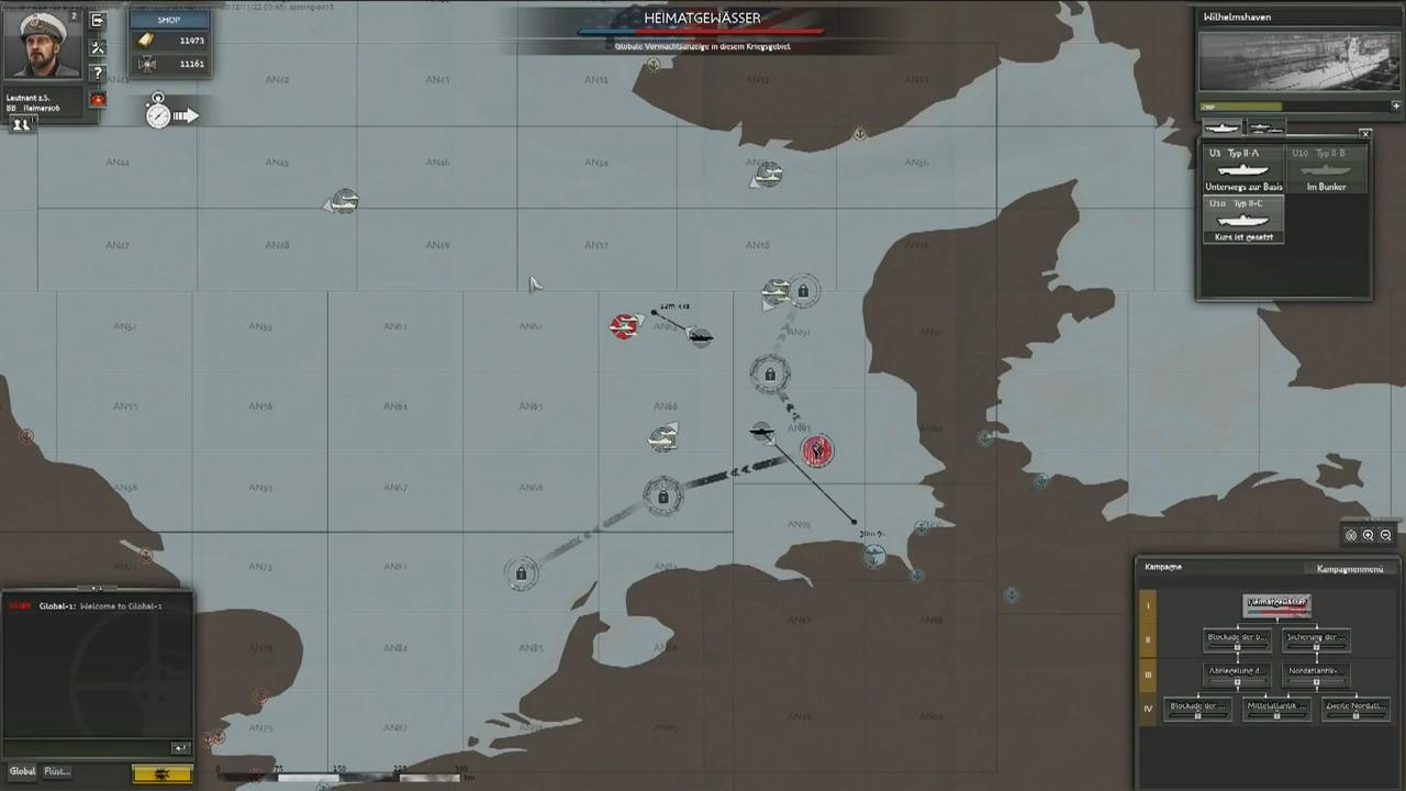 Silent Hunter Online: COMM DEV Video #2 - Fleet Management Trailer screenshot 1
