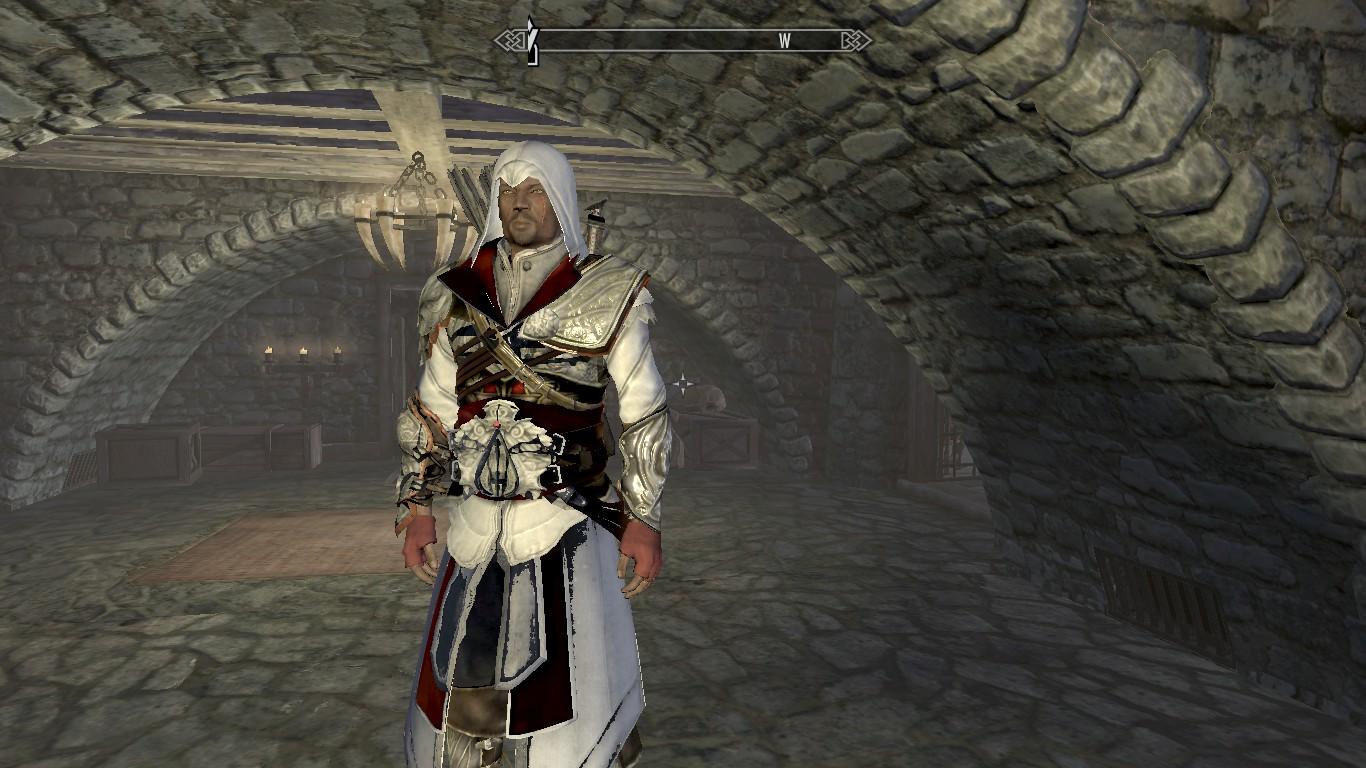 Skyrim Mod Assassins Creed Ii Ezio Armour Download