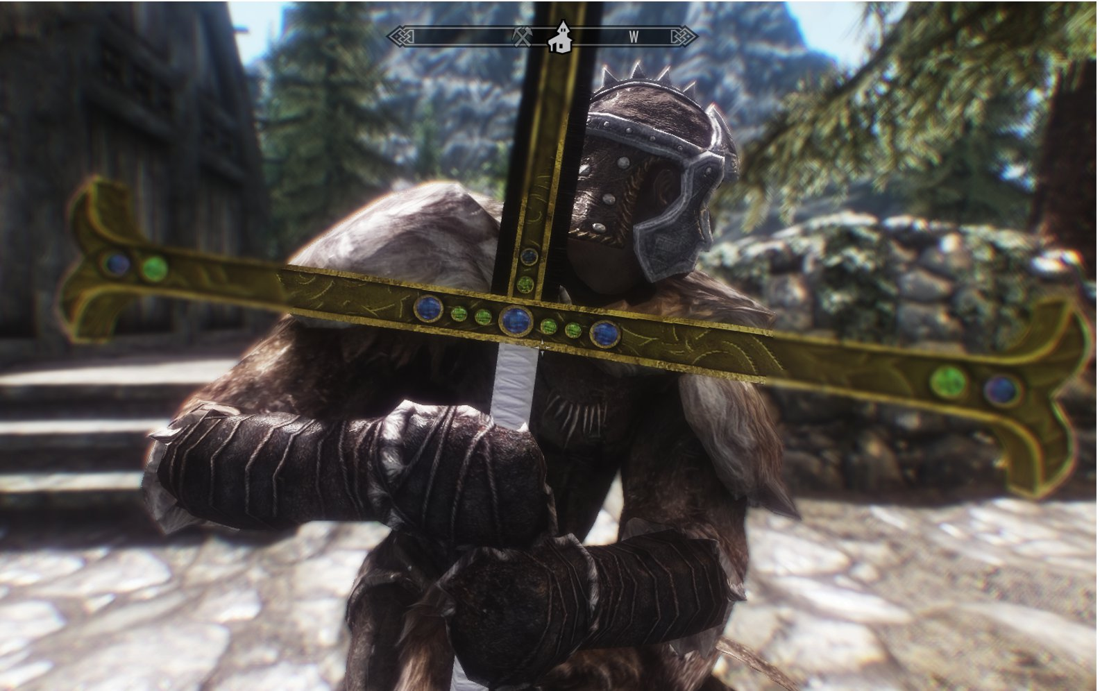 Skyrim Mod - Black Sword screenshot 1