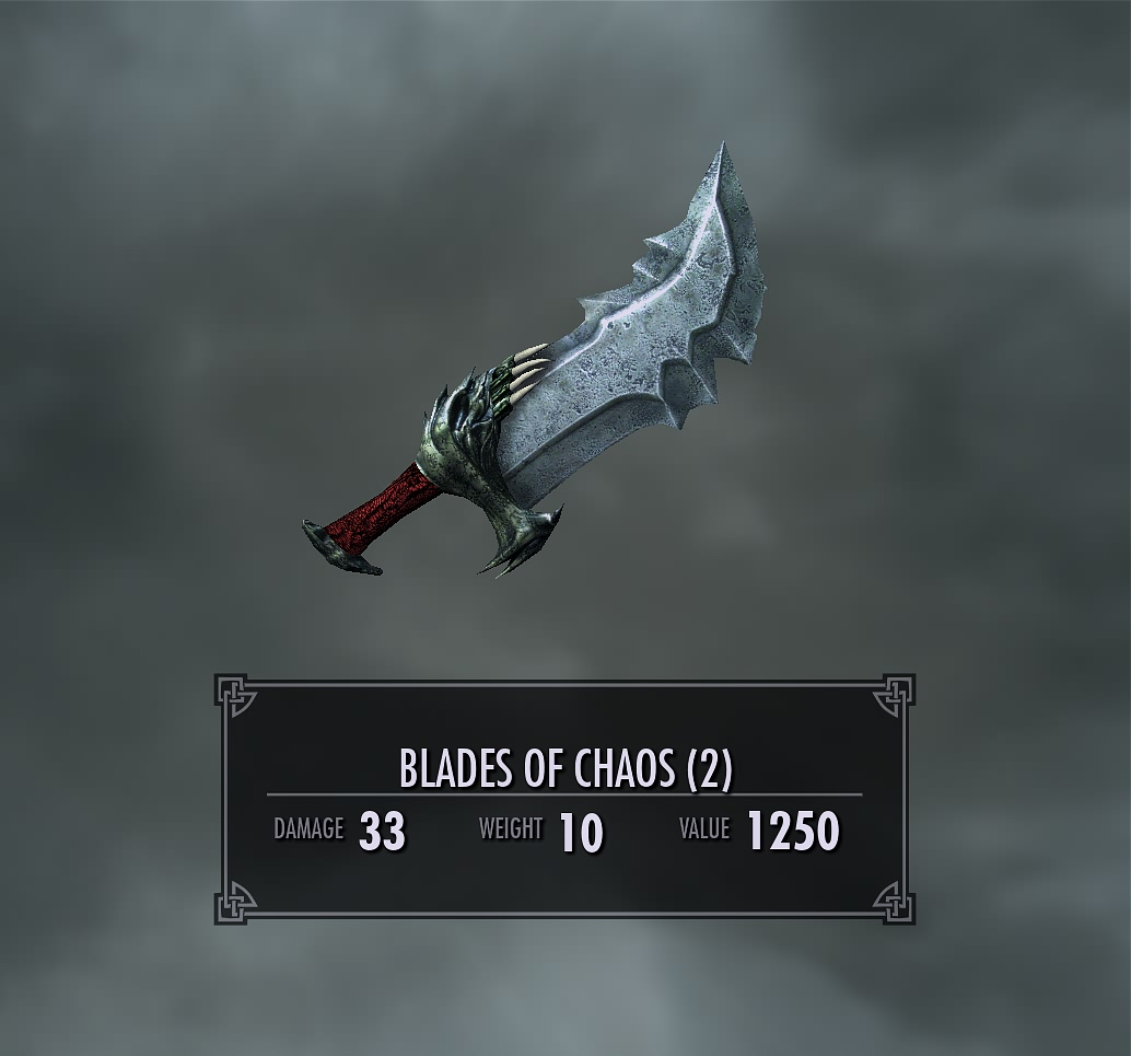 Craft Blades Sword Skyrim