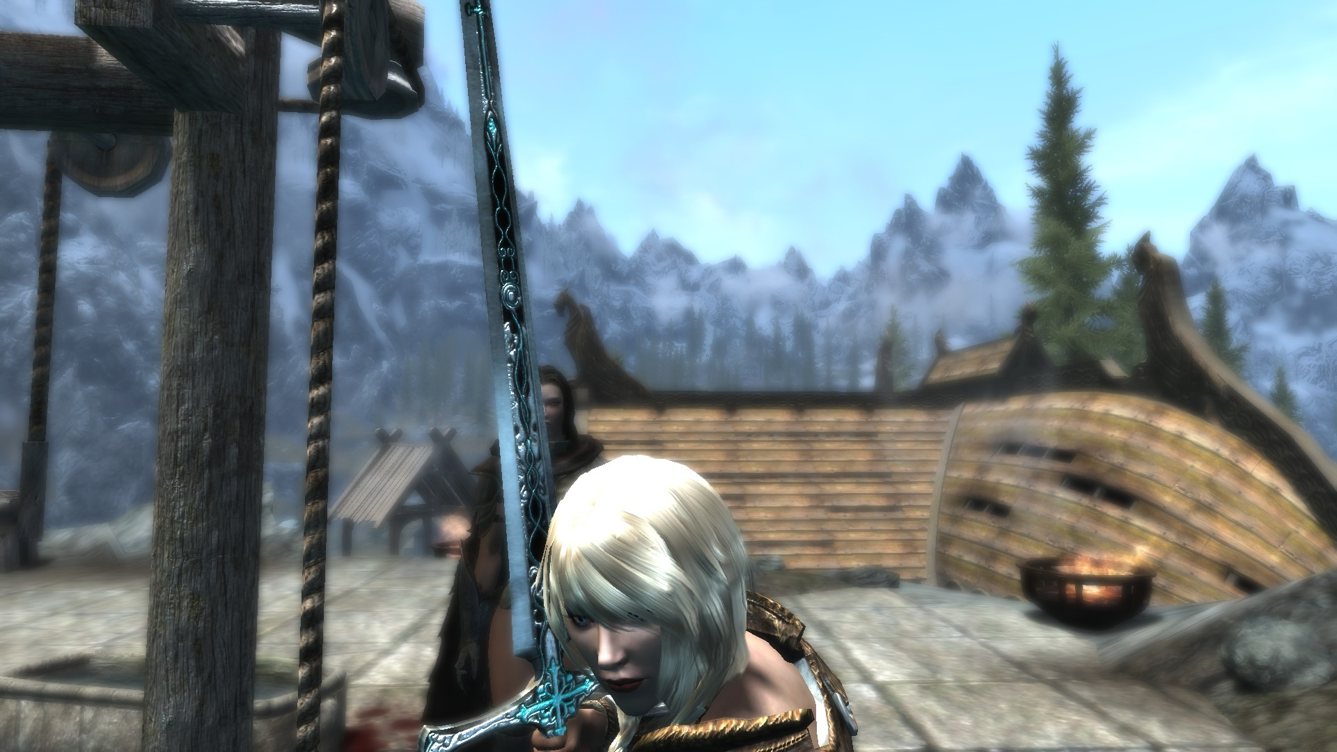 Skyrim Mod - Crainte Vomir ReTextured screenshot 2