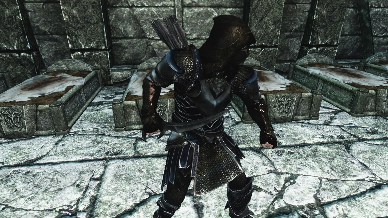 Skyrim Mod - Dark Blade of Woe screenshot 1