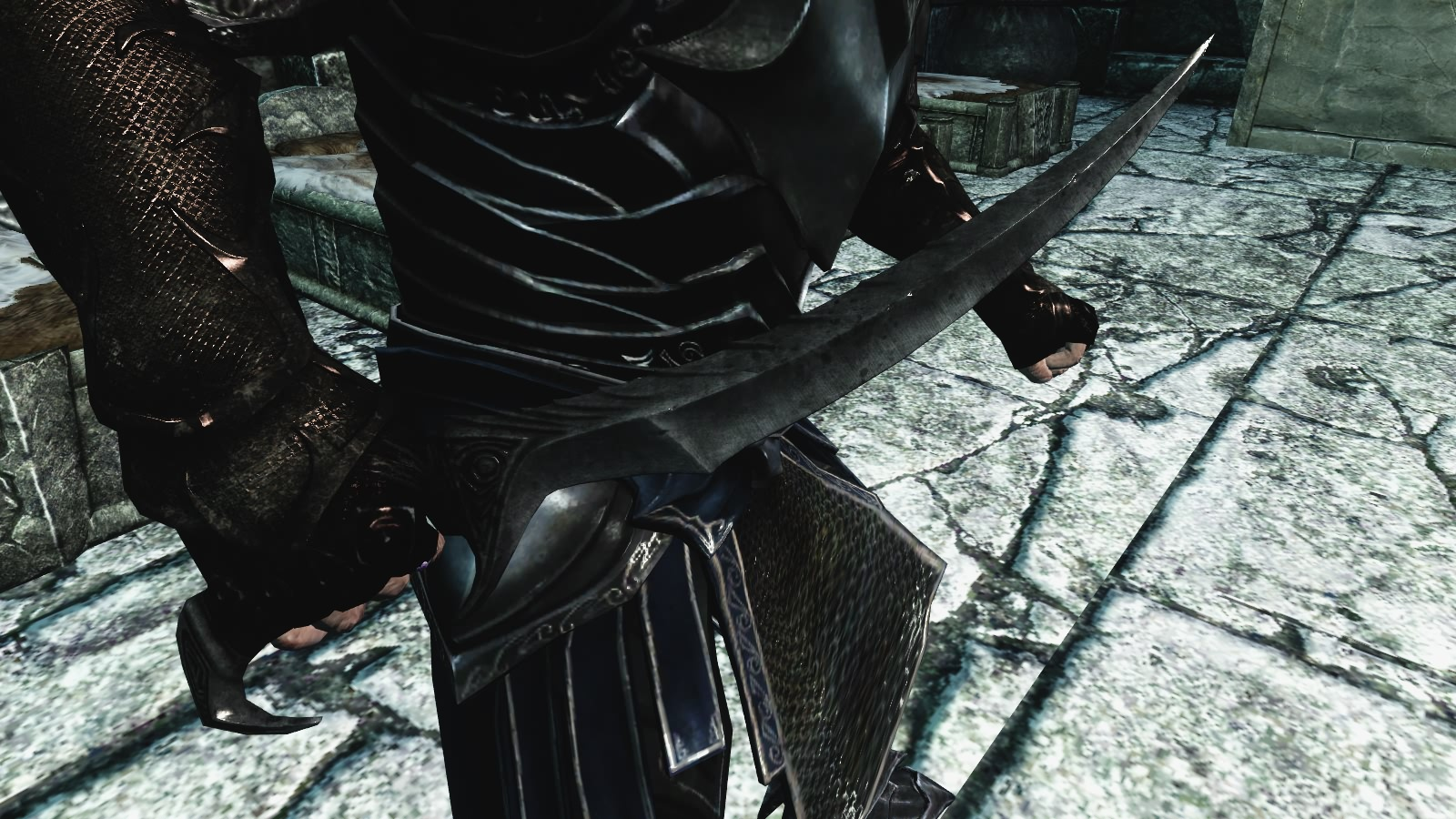 Skyrim Mod - Dark Blade of Woe screenshot 2