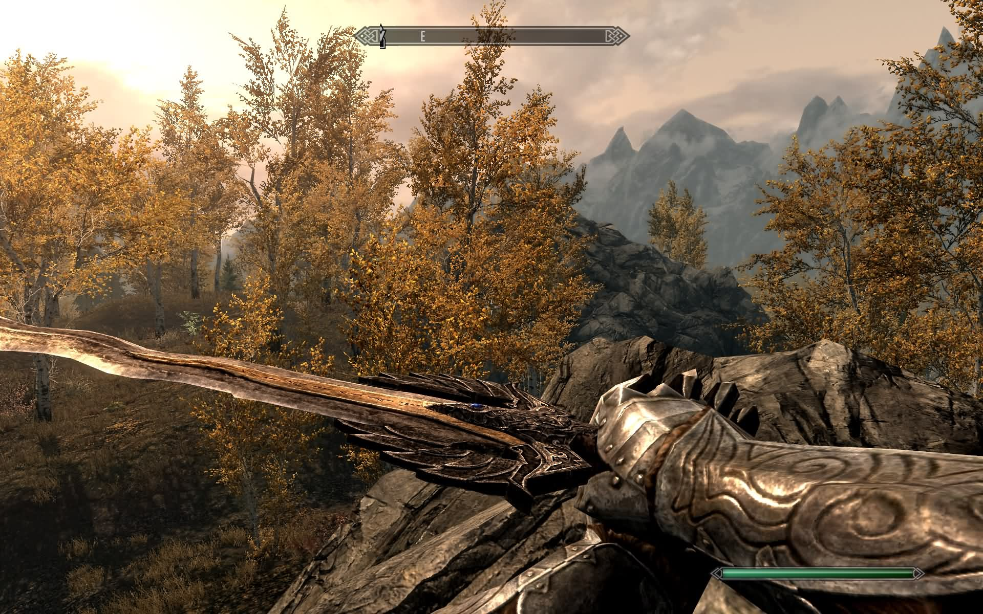Skyrim Mod - The Sword Of The One Eyed Crow screenshot 5