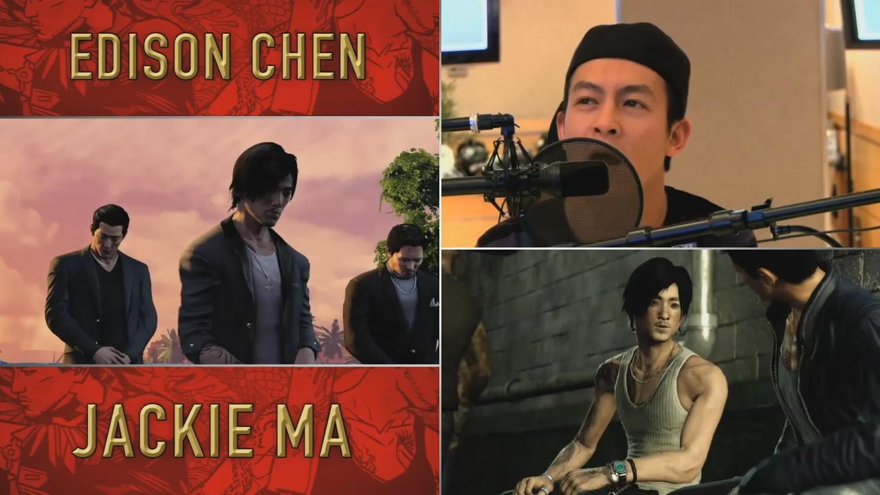 Sleeping Dogs: Behind The Scenes - Voice Talent Trailer screenshot 10