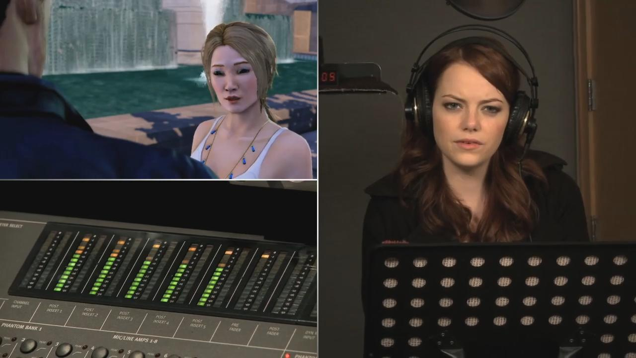 Sleeping Dogs: Behind The Scenes - Voice Talent Trailer screenshot 5