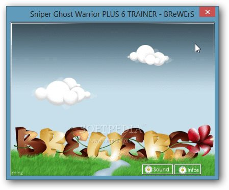 Sniper: Ghost Warrior +6 Trainer for 1.2.0.0 screenshot 1