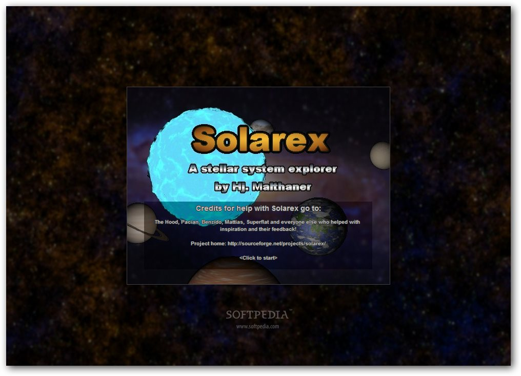 Solarex screenshot 1