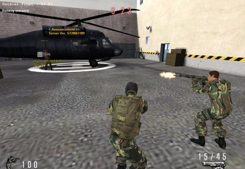 Soldier Front Client screenshot 3