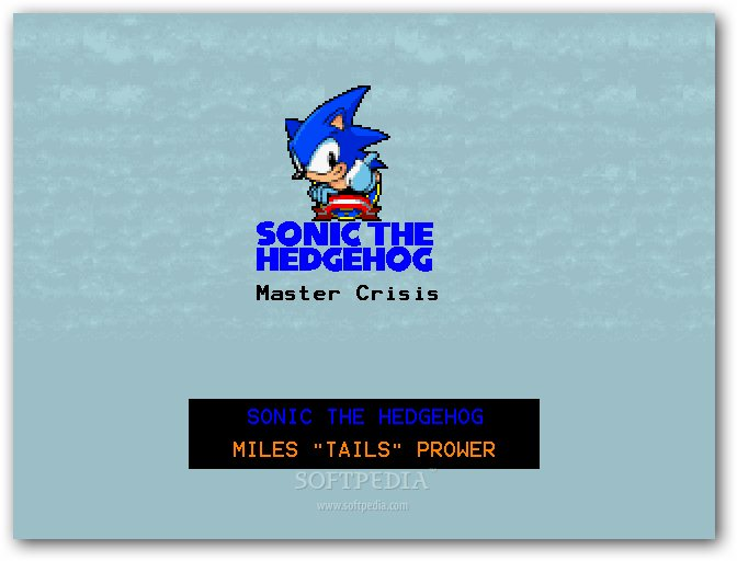 Sonic the Hedgehog - Master Crisis screenshot 1