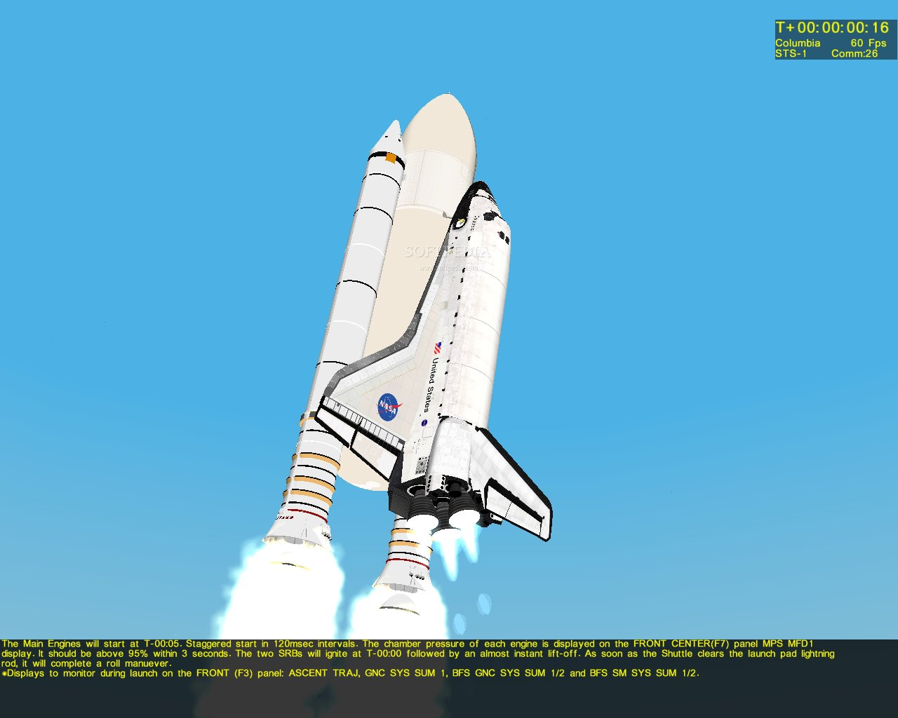 Screenshot 7 of Space Shuttle Mission 2007 Demo.