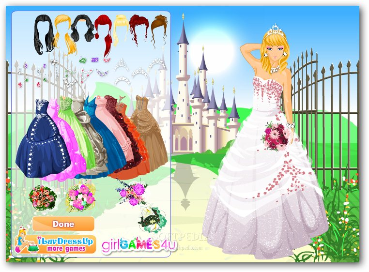Free download yahoo games dress up programs backupsports for Wedding dress up games for girls and boys