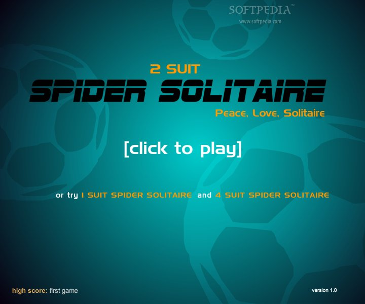 Spider Solitaire 2 Suit screenshot 1