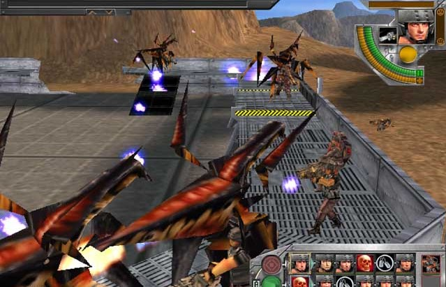 Starship trailer in and widescreen the troopers game starship pc soldier us