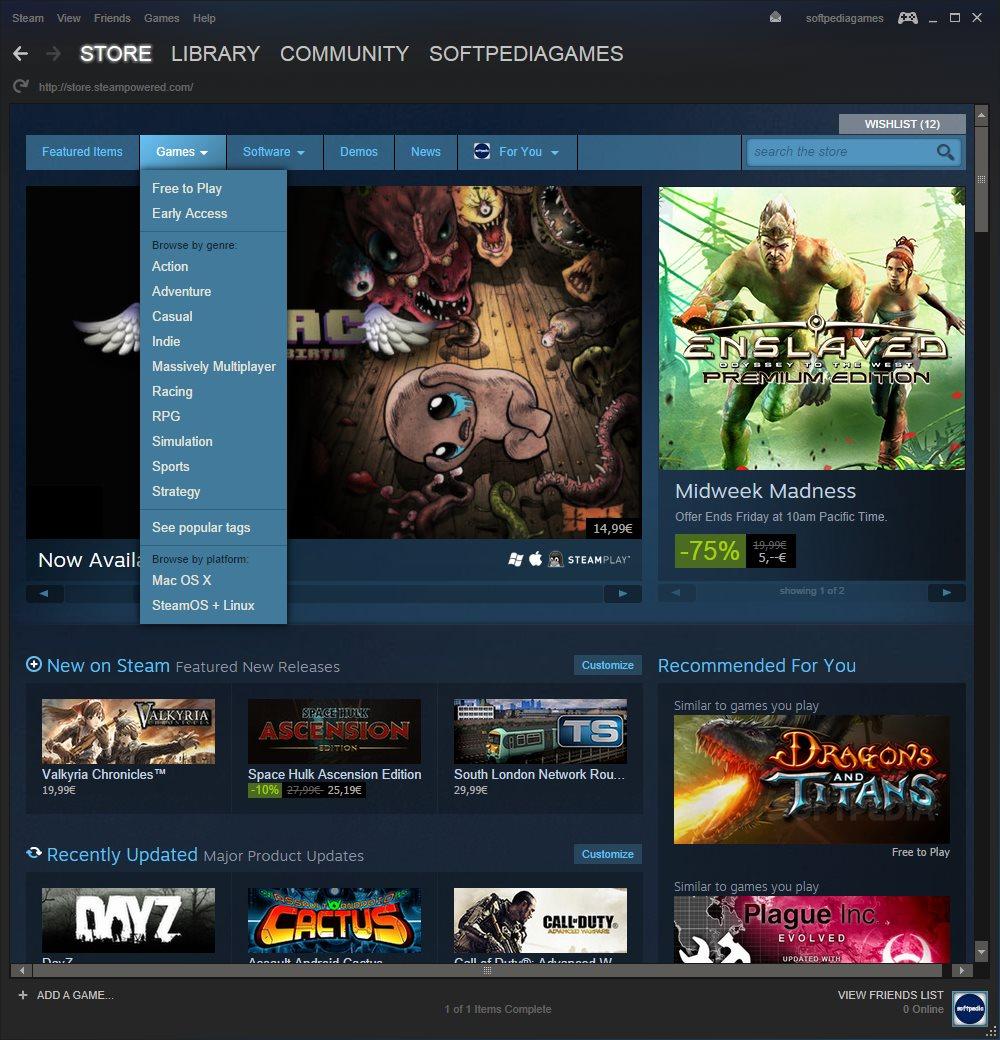 Valve Steam Download