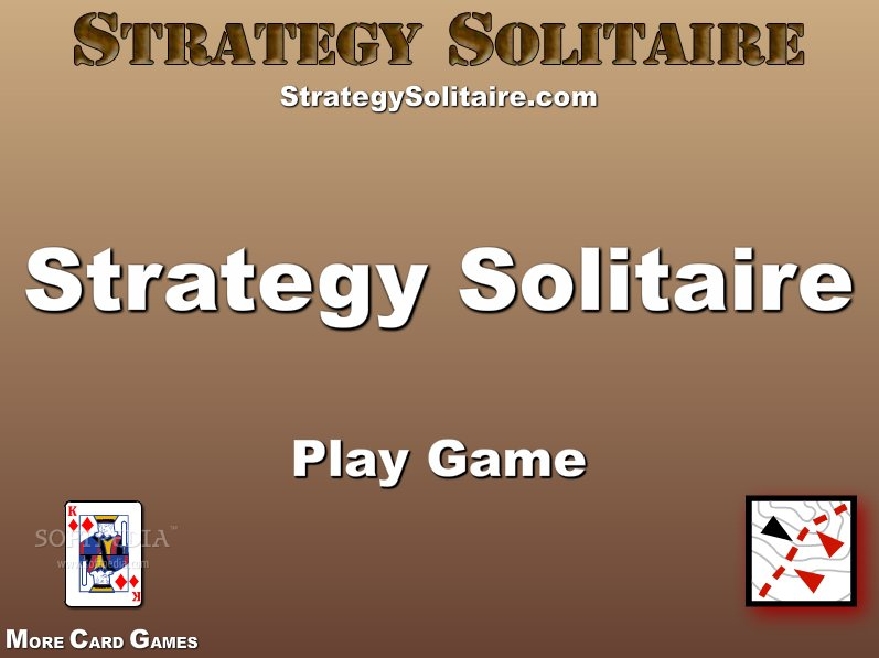 Strategy Solitaire screenshot 1