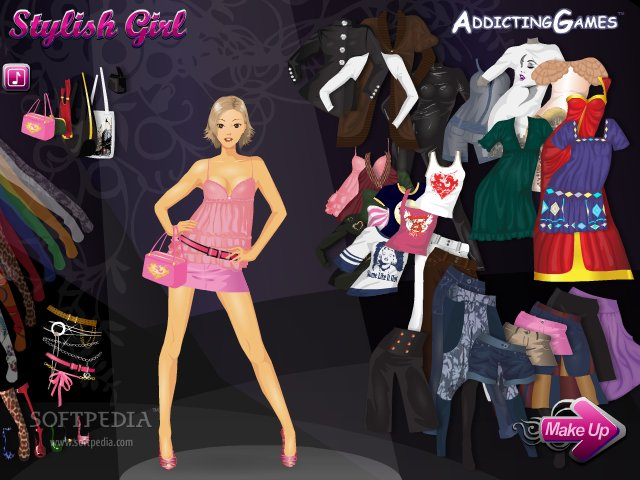 Stylish girl 1 game online