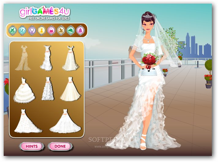 Build your own harley autos post for Design your own wedding dress game