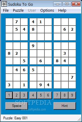 Sudoku To Go screenshot 1