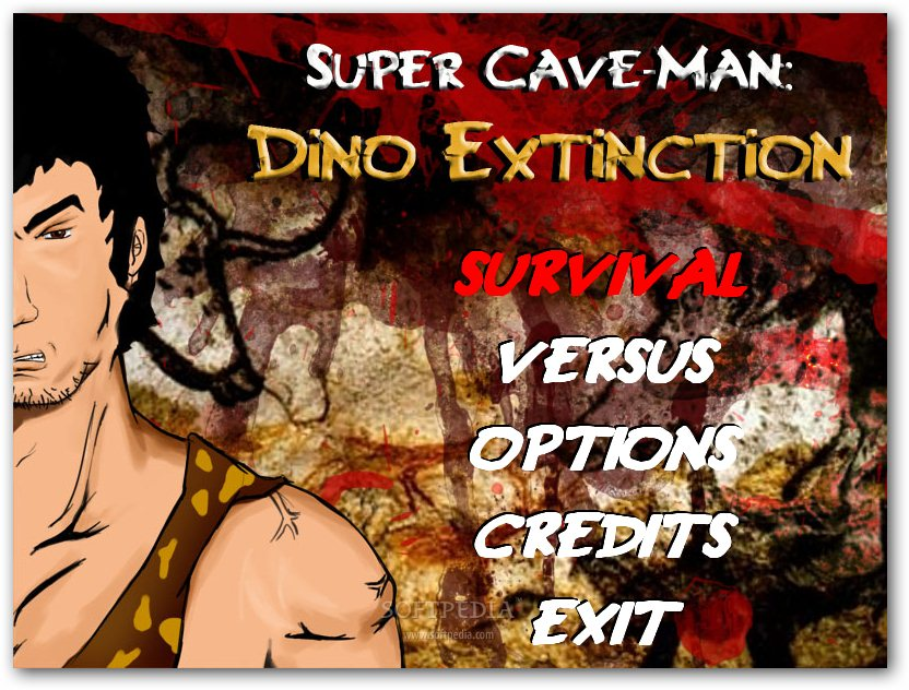 Super Cave-Man Dino Extinction screenshot 1