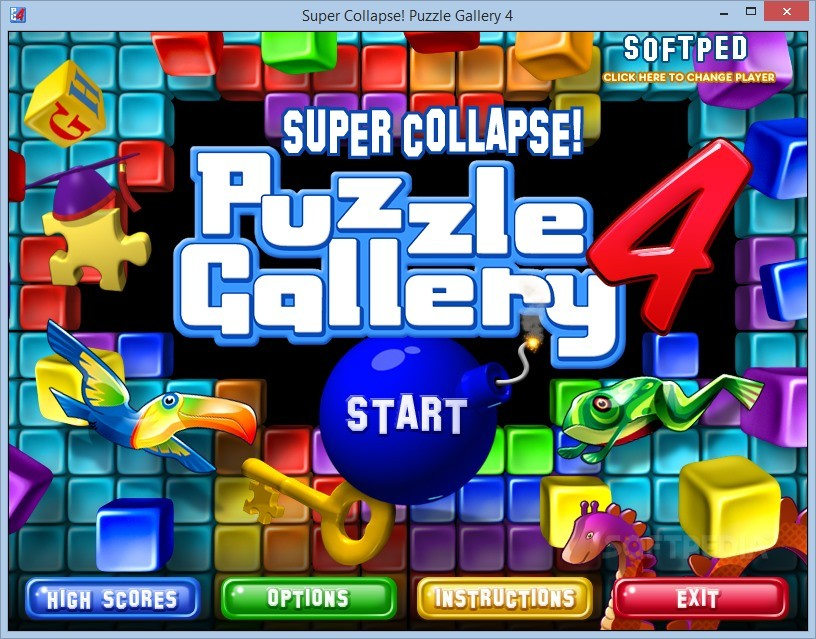 Collapse puzzle gallery 4 a colorful and very nice puzzle game