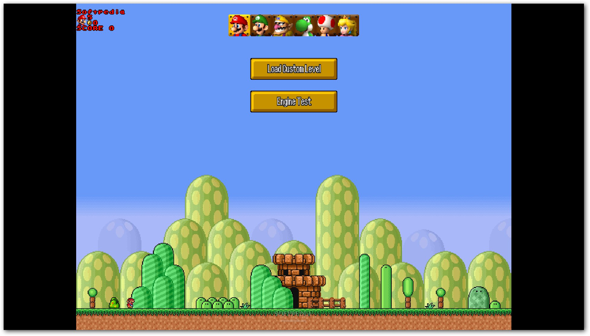 how to play mario on mac