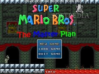 Super Mario Bros The Master Plan screenshot 1