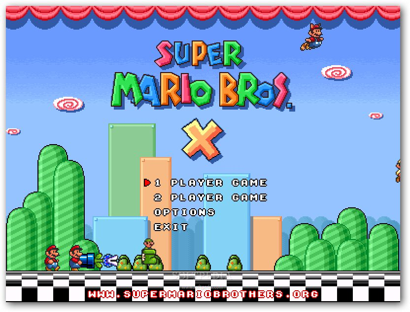 Super Mario Bros X Download