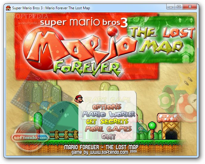 Super Mario Forever: The Lost Map screenshot 1
