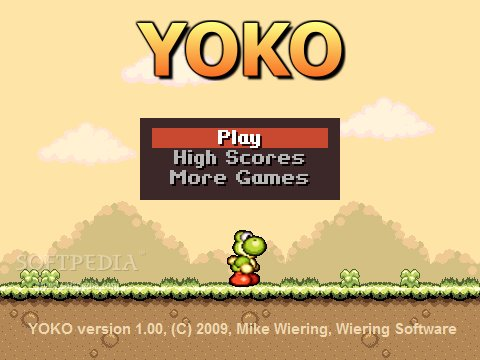 Super Mario Yoshi Island - The Yoko screenshot 1