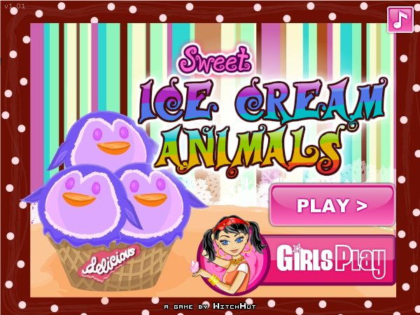 Sweet Ice Cream Animals screenshot 1