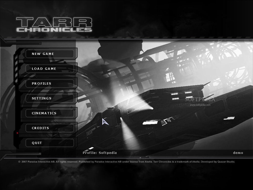 Tarr Chronicles Demo screenshot 1