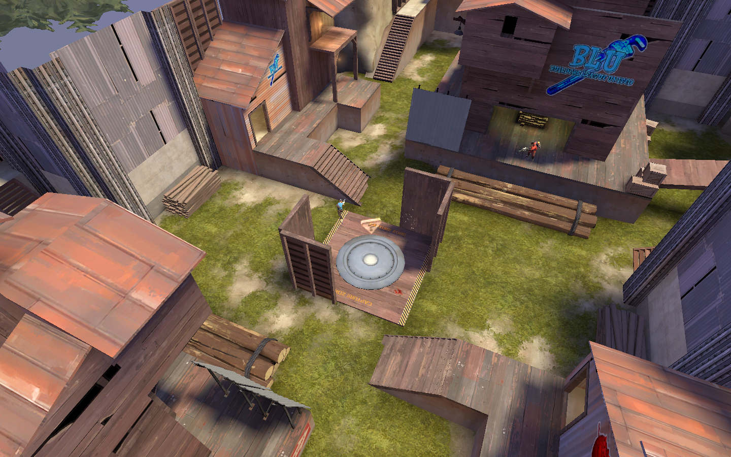 Team Fortress 2 Map - Arena Silverspoon screenshot 4