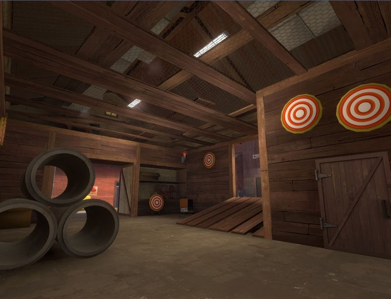 Team Fortress 2 Map - CP Busytown screenshot 3