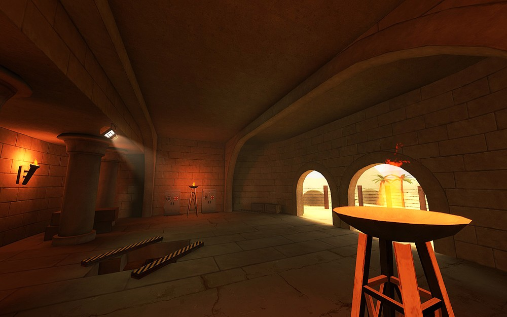 Team Fortress 2 Map - koth_Diabolical screenshot 1