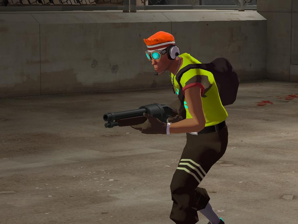 Team Fortress 2 Skin - Scout is BEAT screenshot 1
